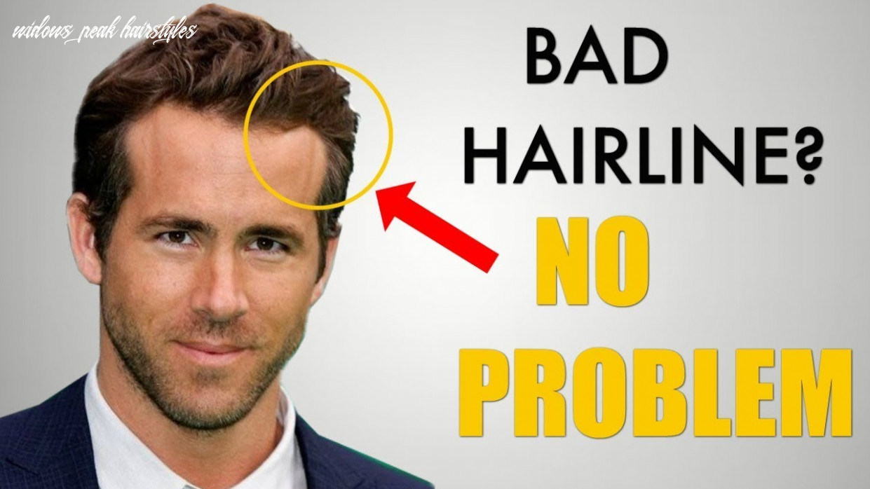 12 awesome hairstyles for widows peak / receding hairline widows peak hairstyles