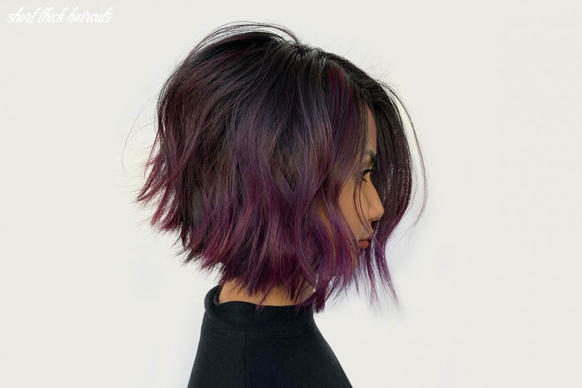 12 beautiful short hairstyles for thick hair   lovehairstyles