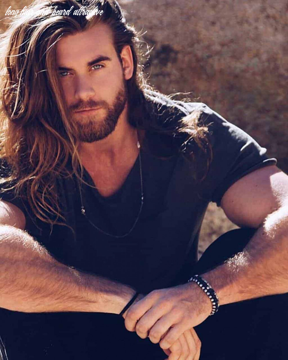 12 best beard styles for guys with long hair – beardstyle long hair and beard attractive