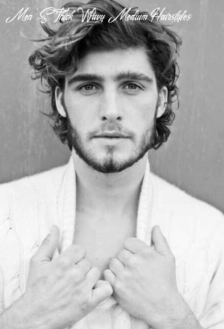 12 best hairstyles for men with thick hair   long hair styles men