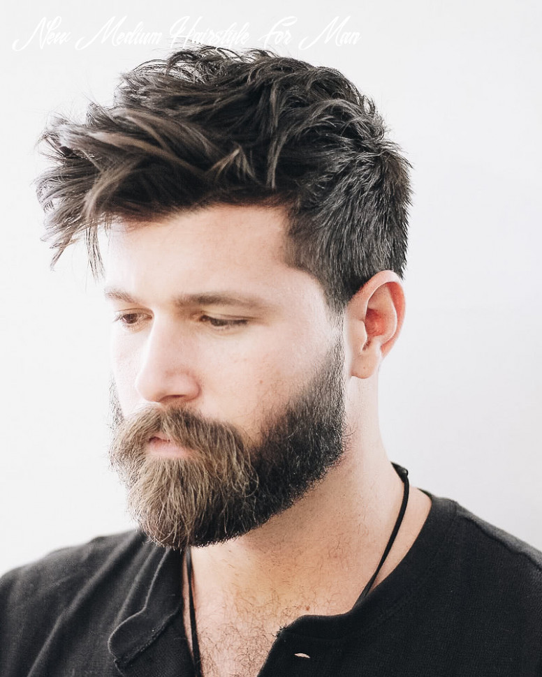 12 best medium length haircuts for men and how to style them new medium hairstyle for man