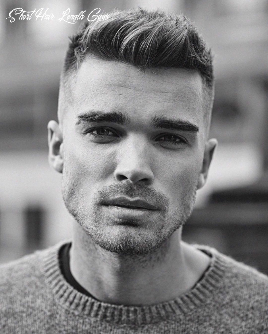 12 best stylish short hairstyles for men [with photos & tips] short hair length guys