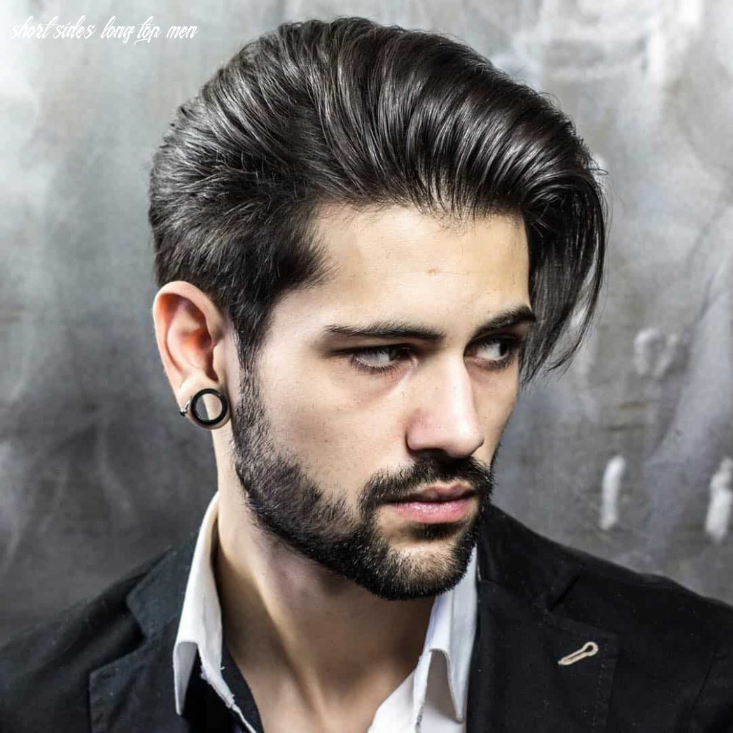 12 creative short on sides long on top haircuts [12 ideas] short sides long top men