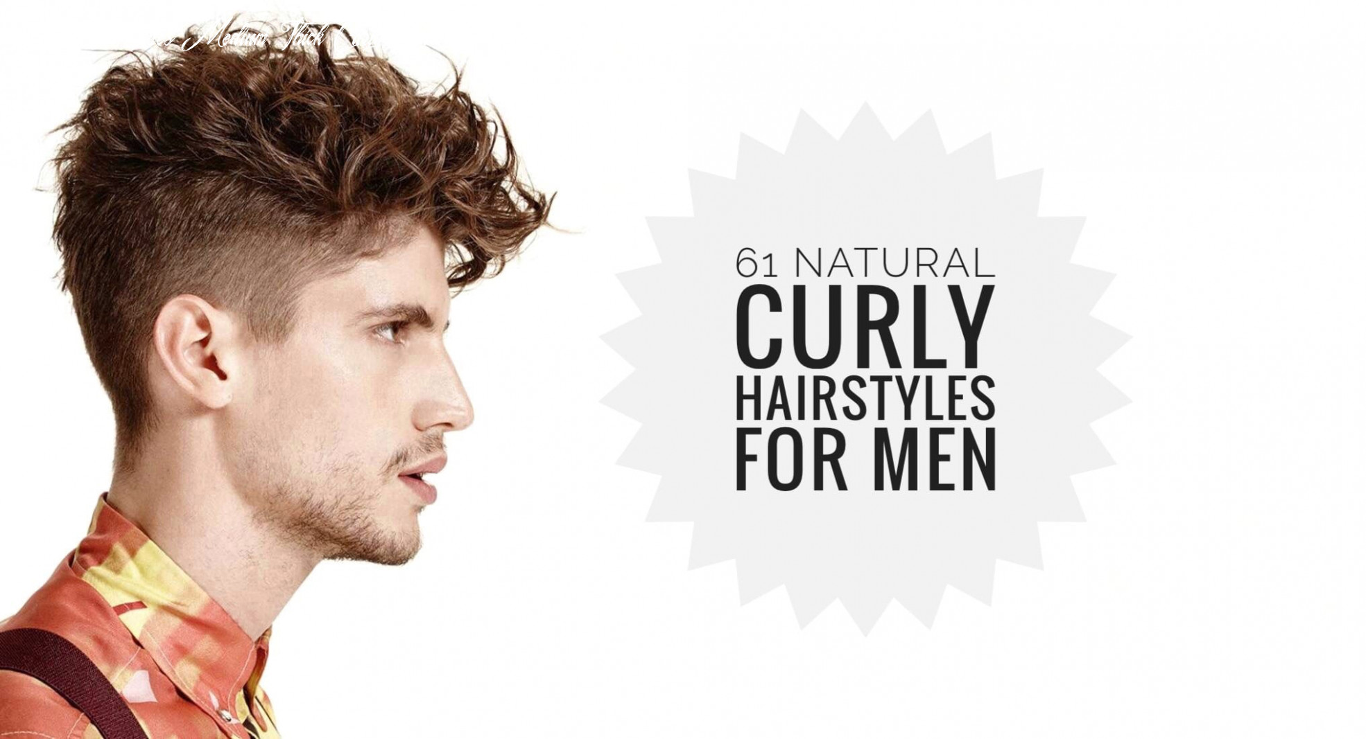 12 curly hairstyles for men to style those curls men hairstyles
