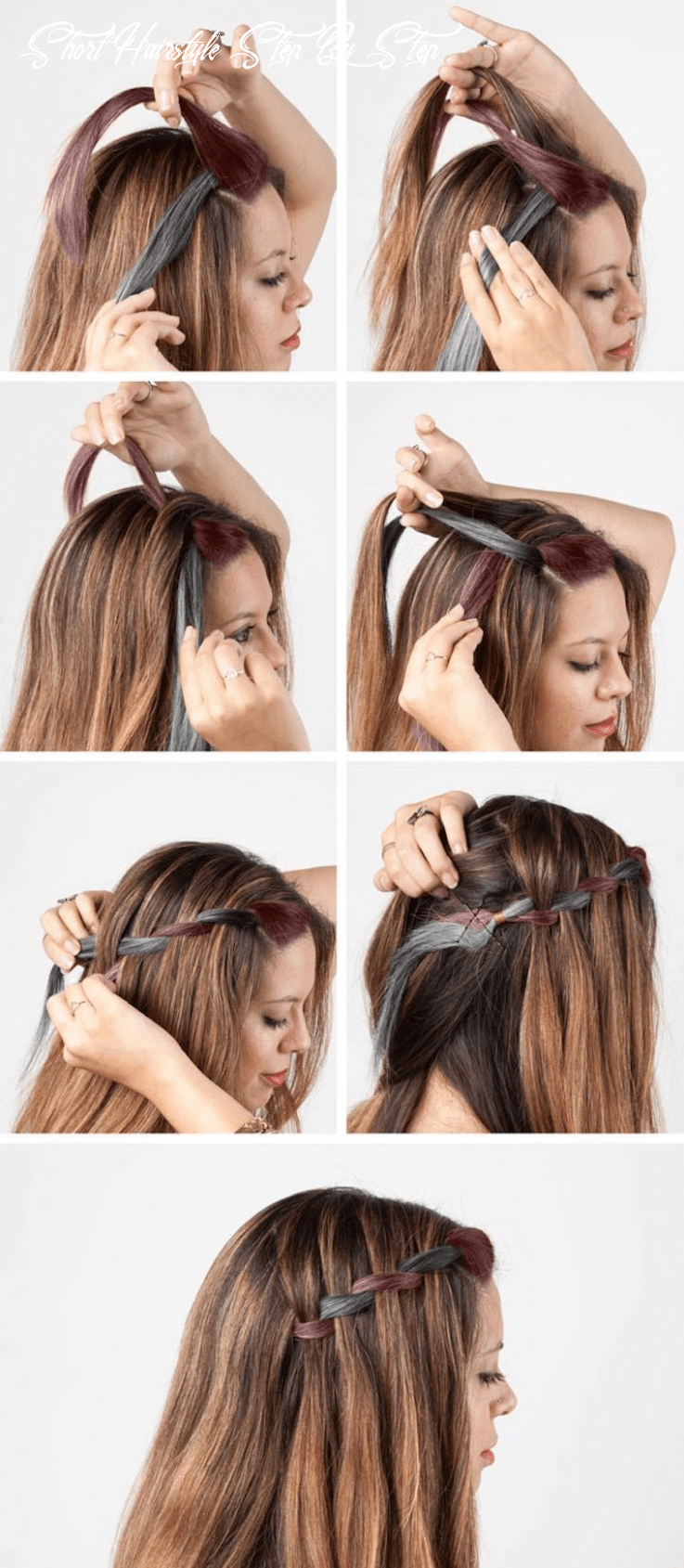 12 diy stunning easy hairstyles tutorials back to school step by