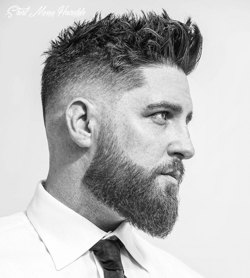 12 messy hairstyles for men > super cool styles for 12 short messy hairstyle