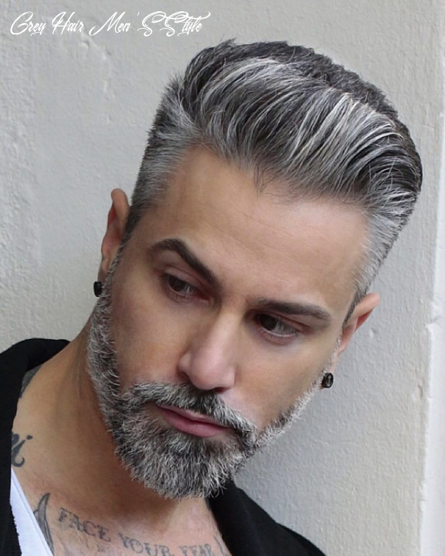12 short asian men hairstyles to get right now | grey hair men