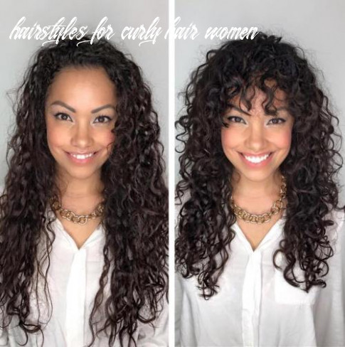 12 styles and cuts for naturally curly hair in 12 hairstyles for curly hair women