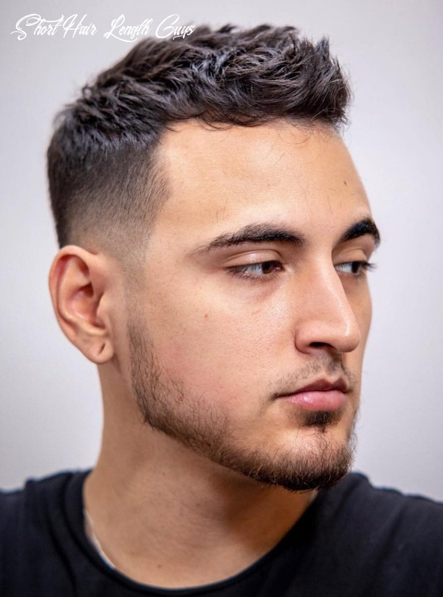 12 unique short hairstyles for men styling tips short hair length guys