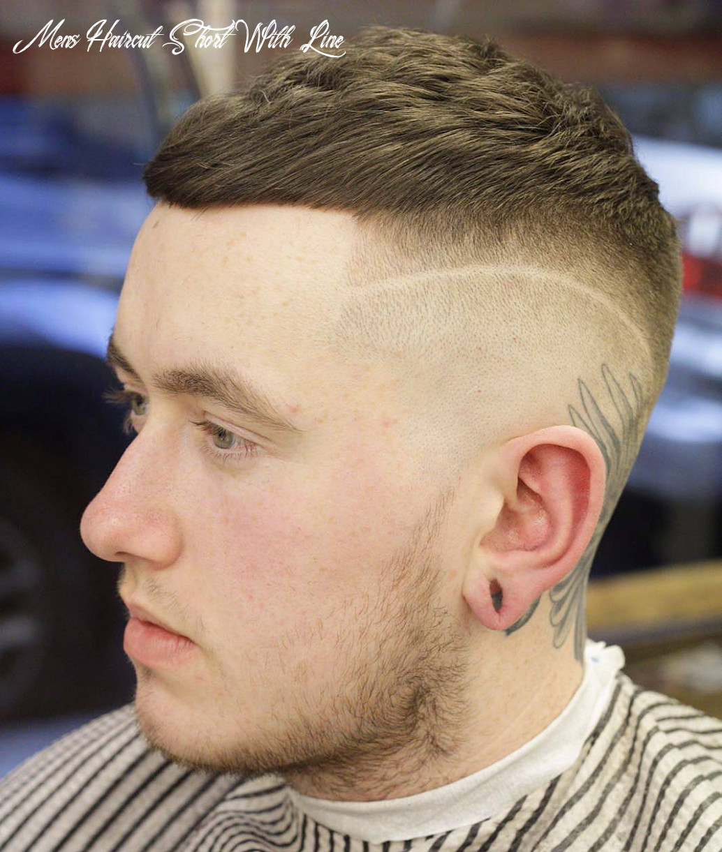 12 very short haircuts for men mens haircut short with line
