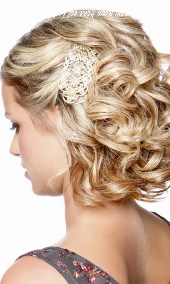 12 wedding hairstyles for short hair | formal hairstyles for short