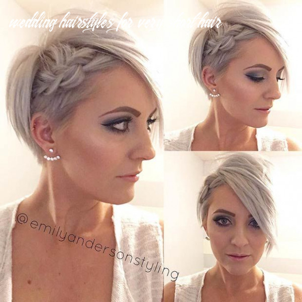 12 wedding hairstyles for short to mid length hair | short wedding