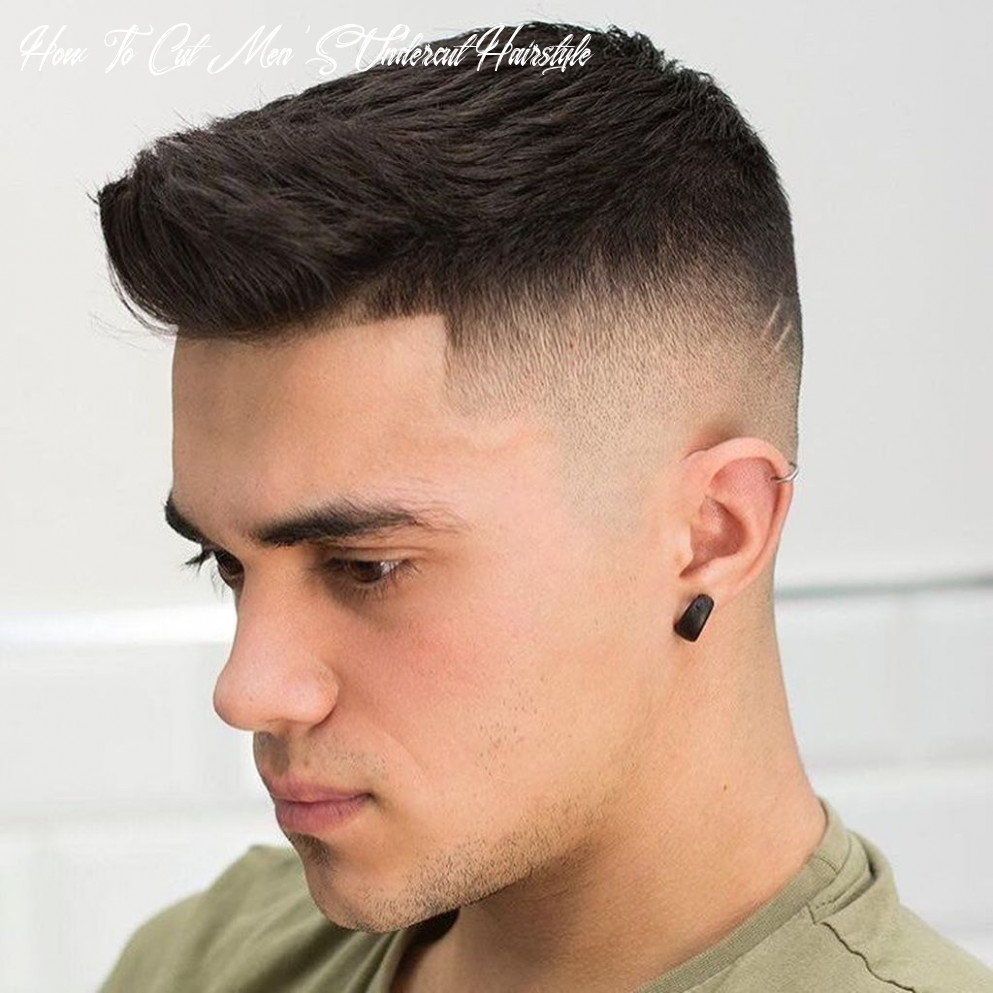 12 wonderful undercut hairstyle ideas for men in this year