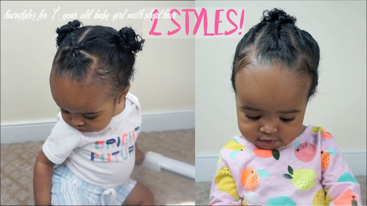 1222 cute and easy hairstyles for baby girls   zara's 122st birthday special part 122 hairstyles for 1 year old baby girl with short hair