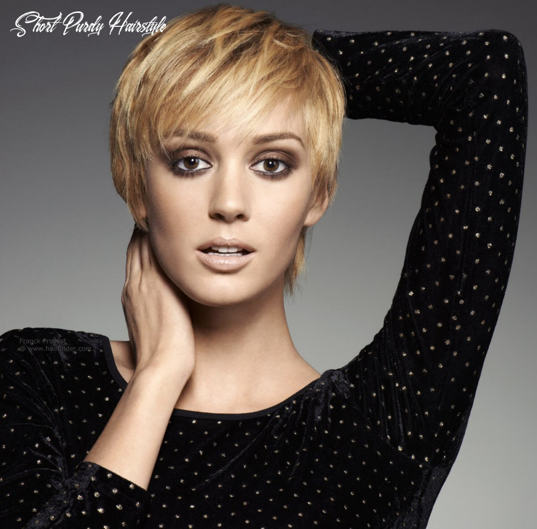 8 cute short hairstyles (with bangs) styles weekly short purdy hairstyle