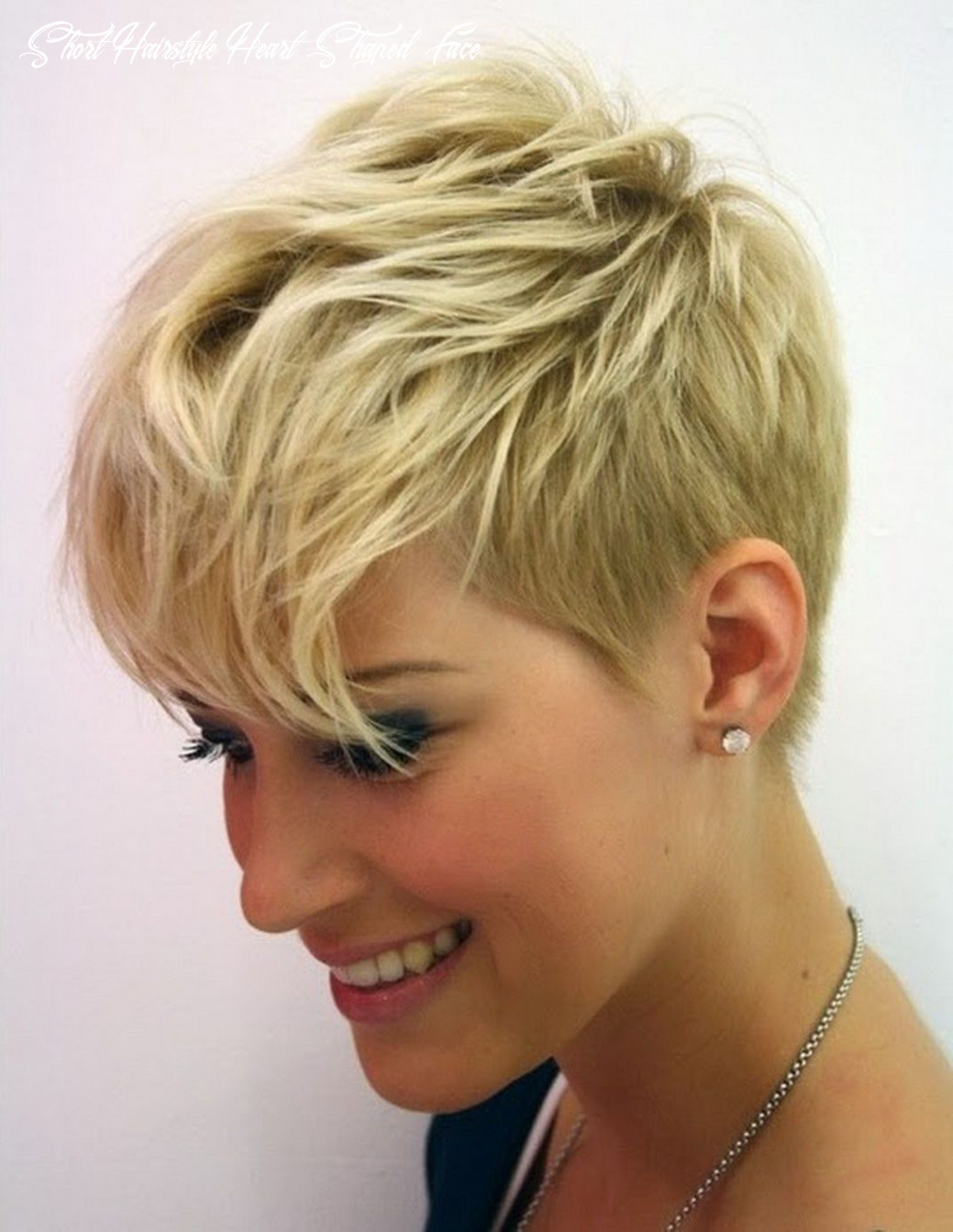 8 short hairstyles for heart shaped faces in 8   thin fine