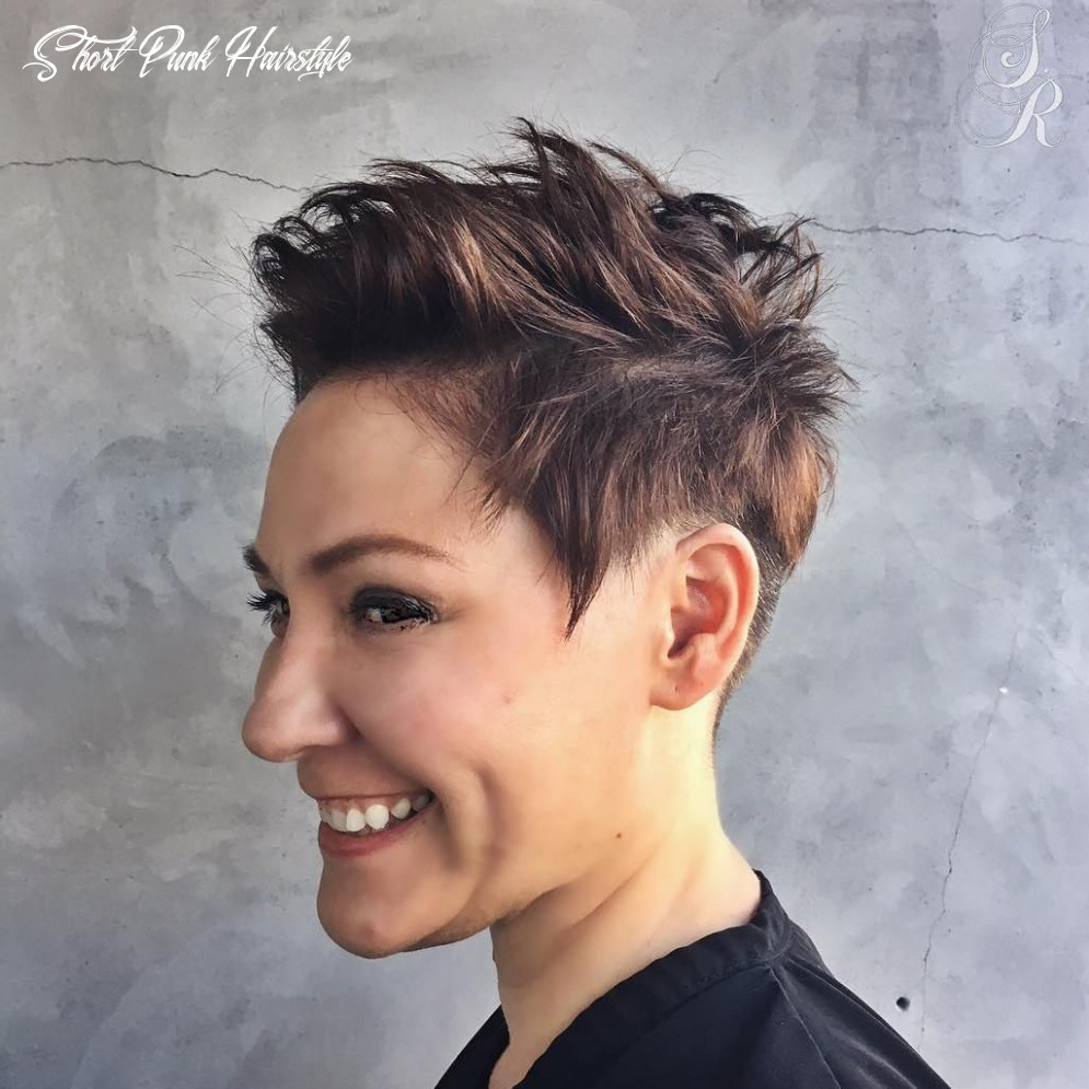 8 short punk hairstyles to rock your fantasy in 8 | short punk