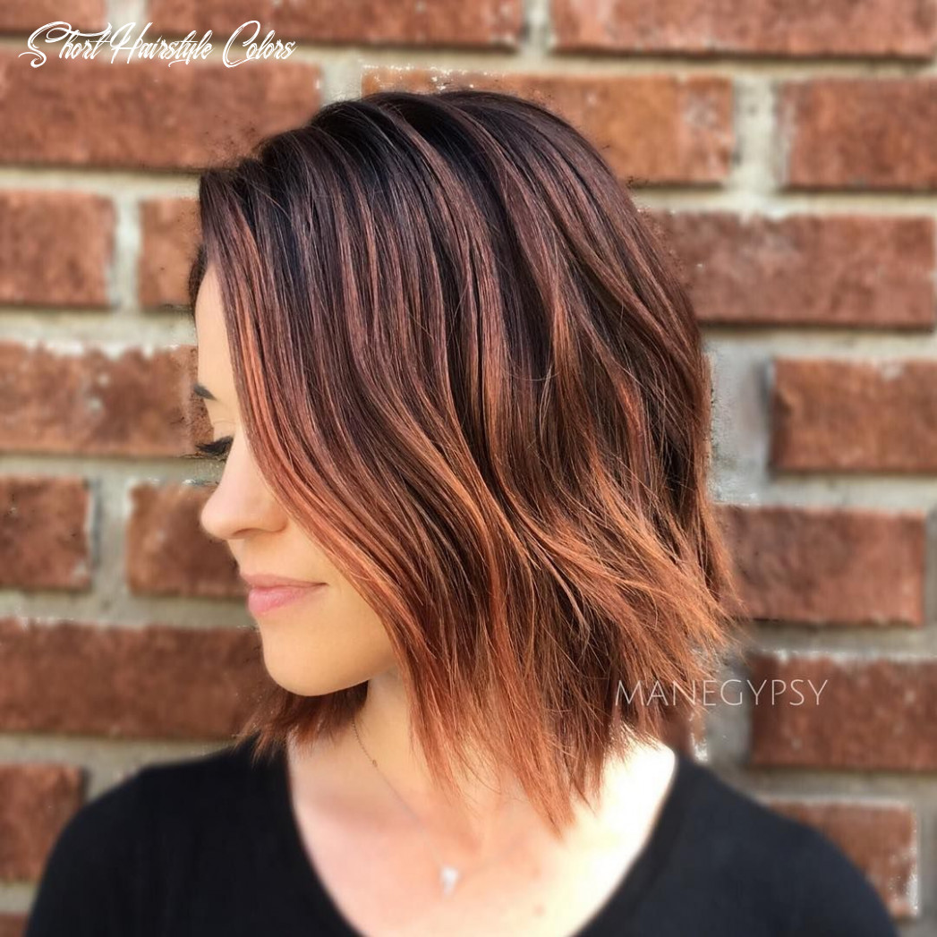 8 stunning balayage hair color ideas for short hair 8 short hairstyle colors