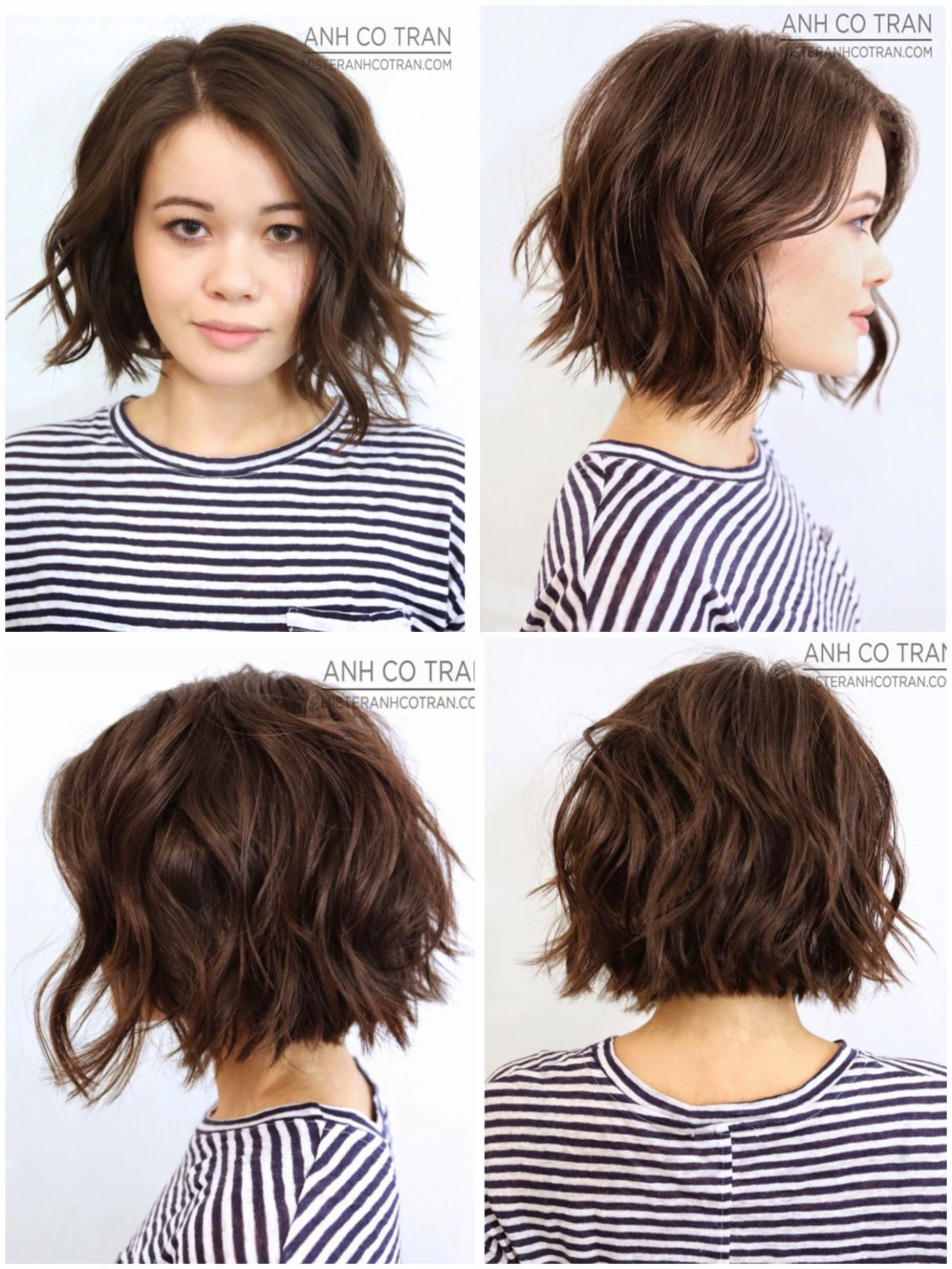 8 view of great classic bob gone messy   haircuts for wavy hair