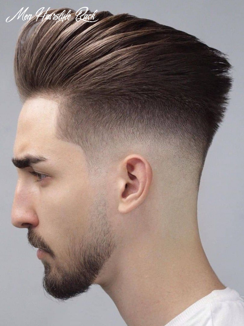 9 back fade hairstyle smart & charming look in 9 (with