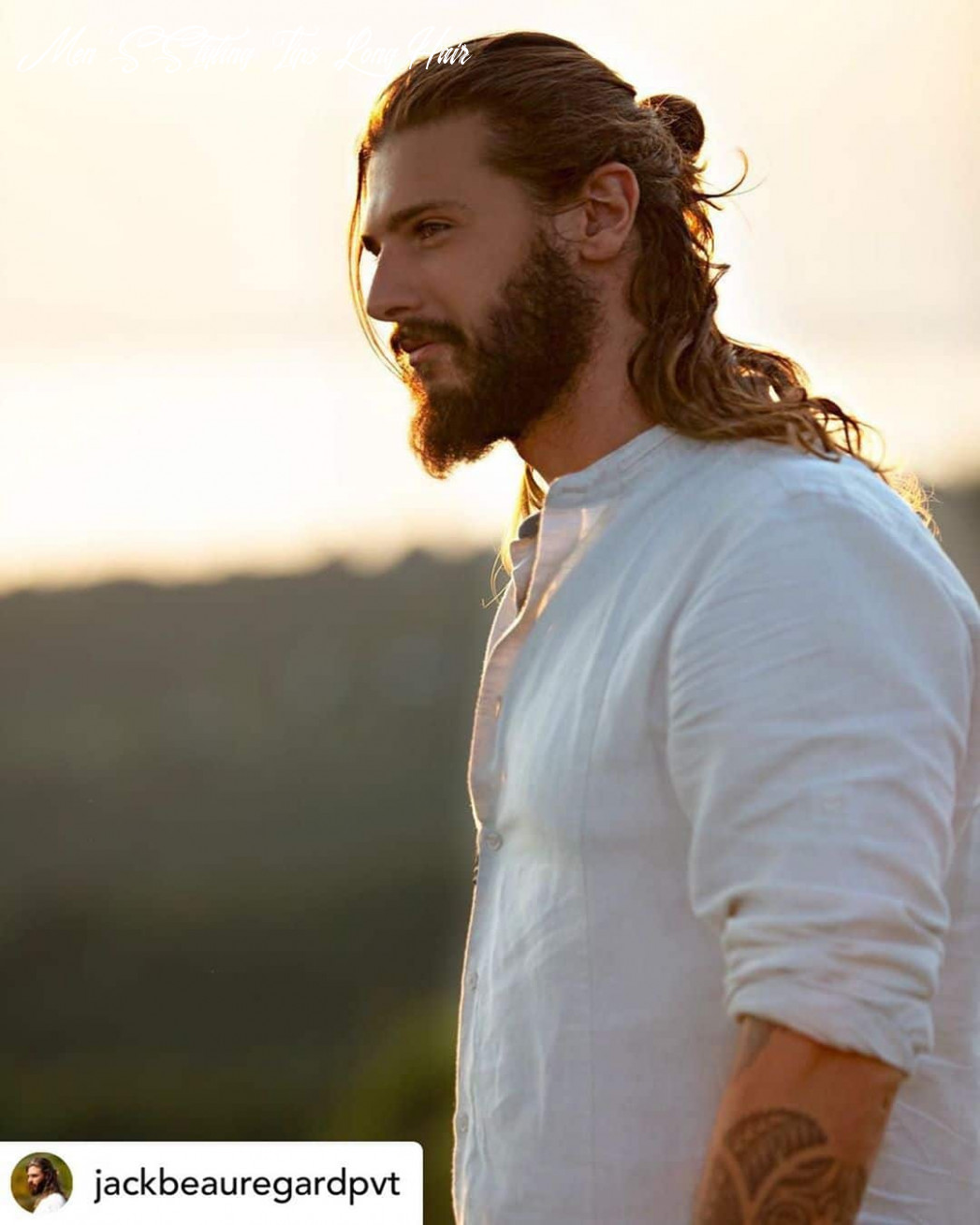9 best hairstyles for men with long hair (newly updated