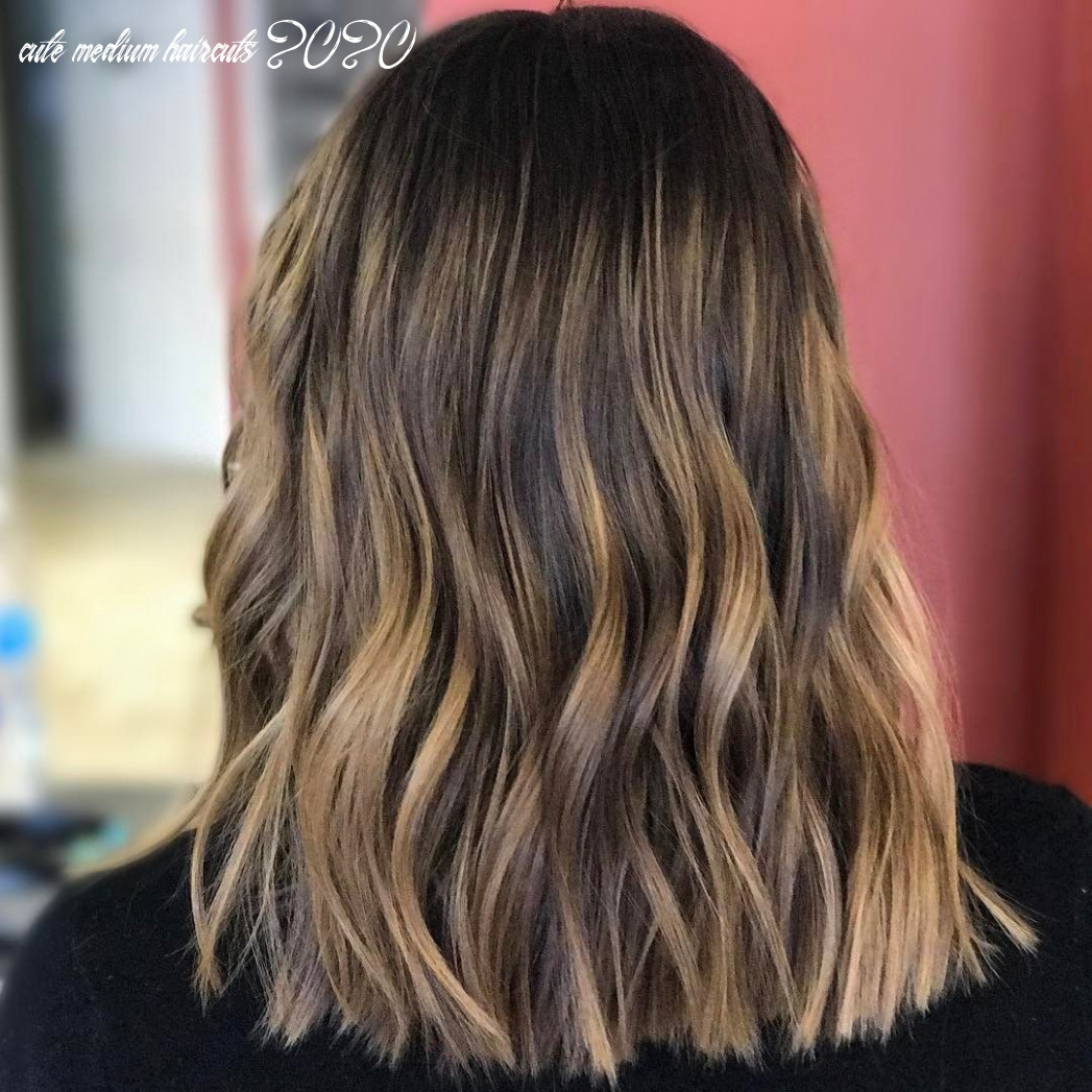 9 chic everyday hairstyles for shoulder length hair 9   medium