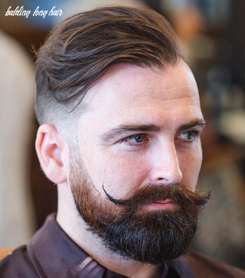 9 classy haircuts and hairstyles for balding men balding long hair