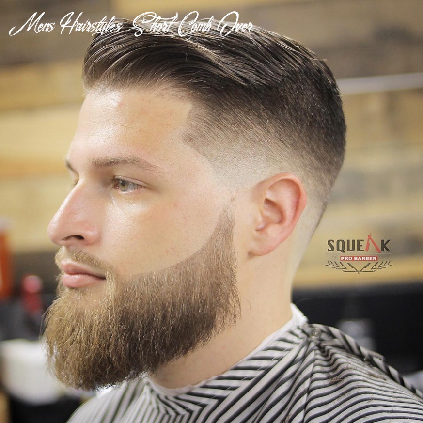9 comb over fade haircuts for 9 (classic cool) mens hairstyles short comb over