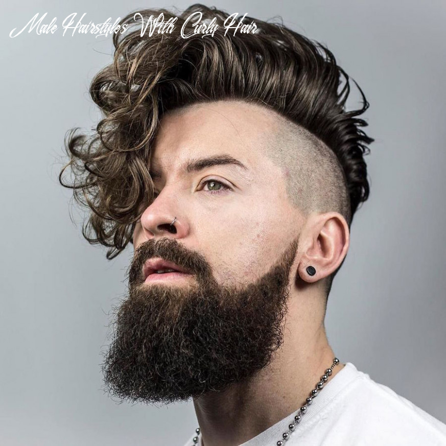 9 curly hair hairstyles for men (9 update) male hairstyles with curly hair