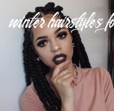 9 fall / 9 winter hairstyles for black women | hair styles