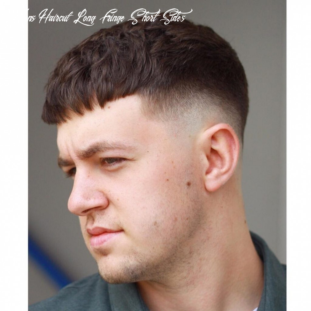 9 fringe haircuts for men > all the styles for 9 mens haircut long fringe short sides