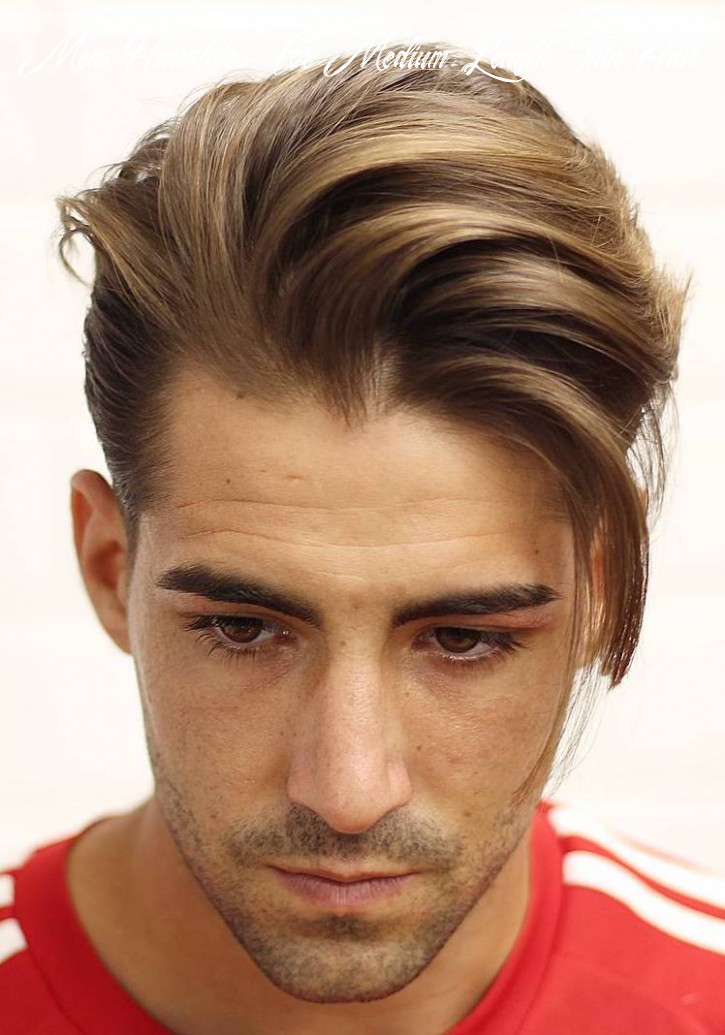 9 hairstyles for men with thin hair (add more volume) mens hairstyles for medium length thin hair