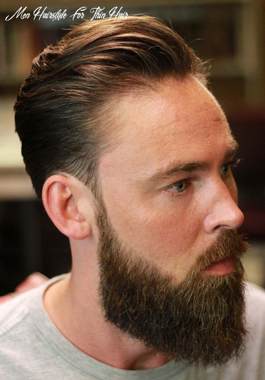 9 hairstyles for men with thin hair (add more volume) | thin hair