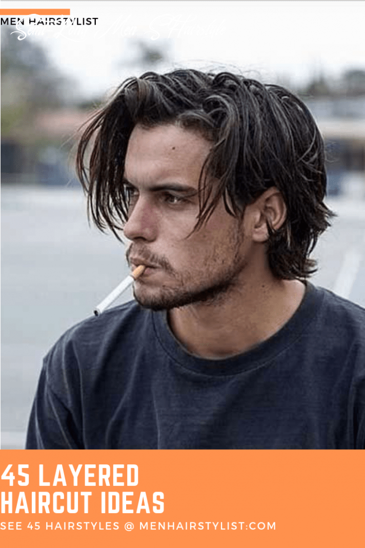 9 layered haircuts for men with layered personalities | long hair