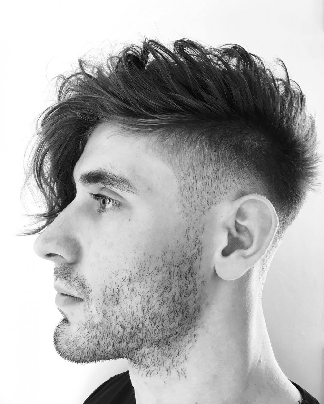 9 long hair haircuts hairstyles for men: best of > july 9 long hair style man one side