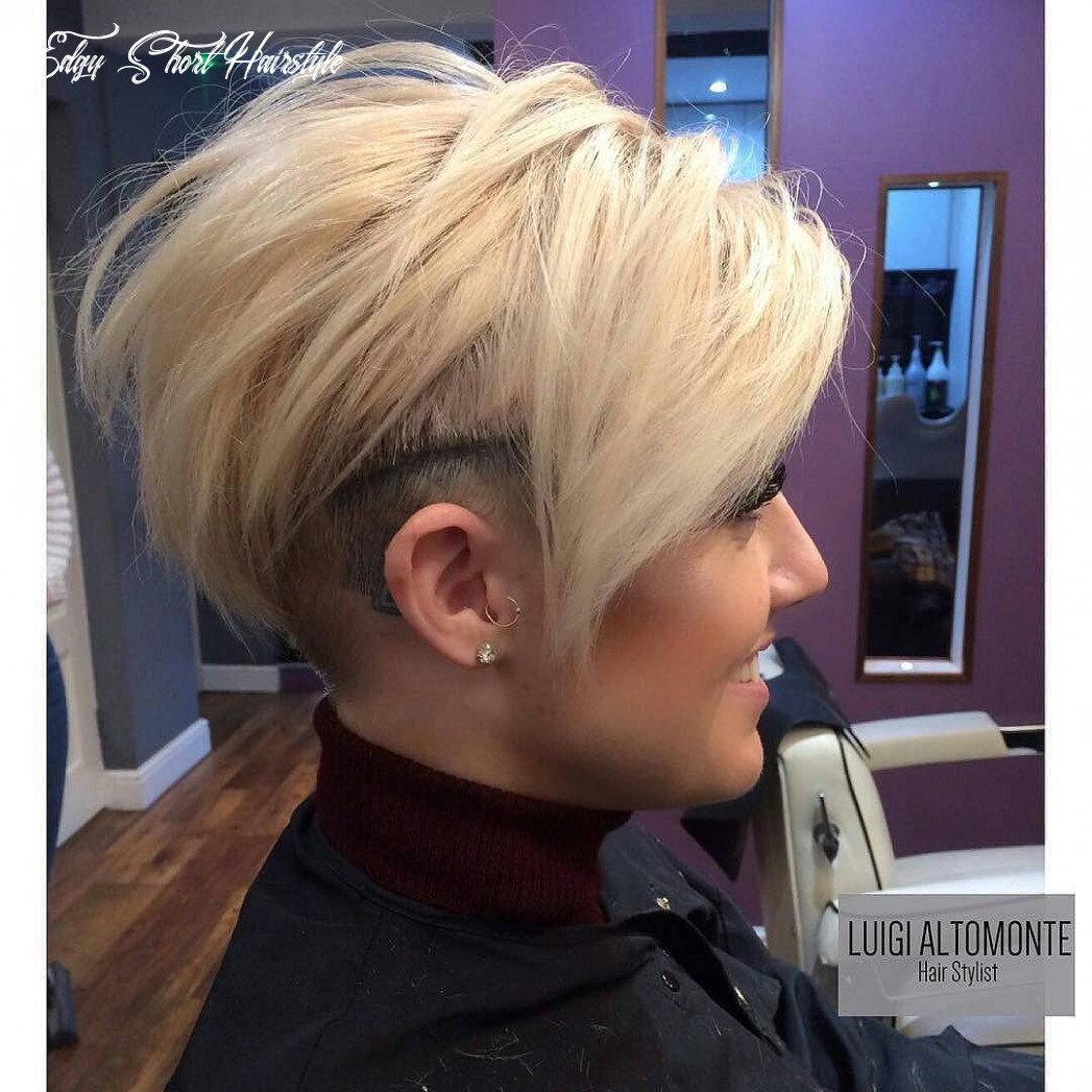 9 short edgy haircuts for women try a shocking new cut & color