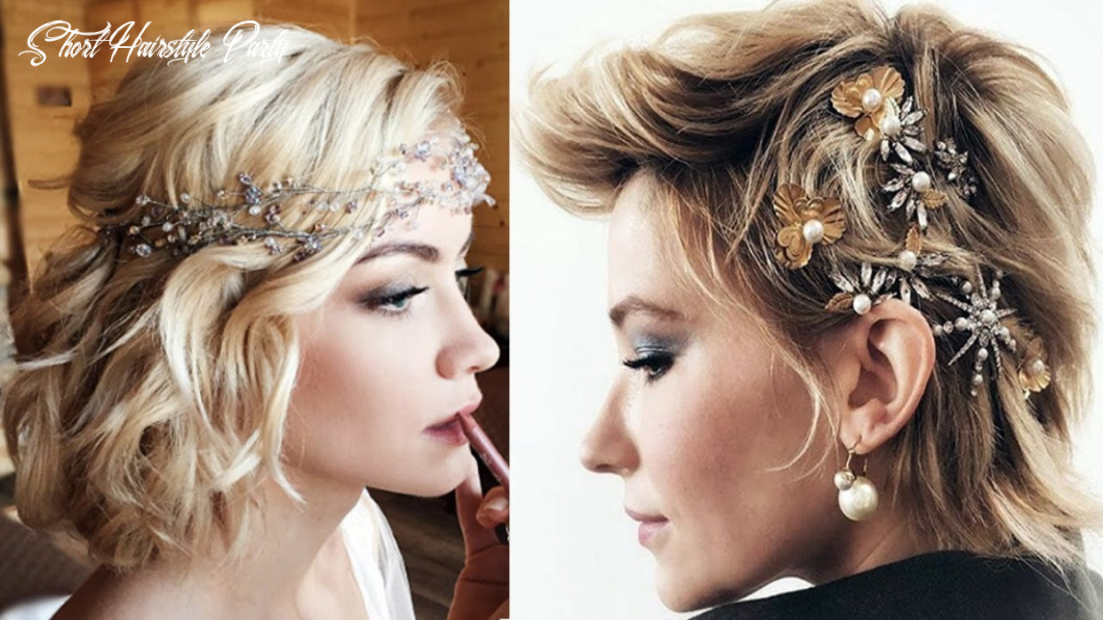 9 short hairstyles for wedding party bridesmaids short hairstyles short hairstyle party
