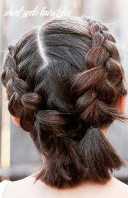 9 stunning updos for short hair the trend spotter short updo hairstyles