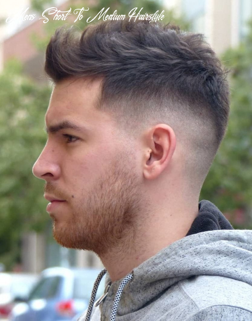 9 unique short hairstyles for men styling tips mens short to medium hairstyle