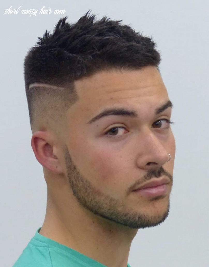 9 unique short hairstyles for men styling tips short messy hair men