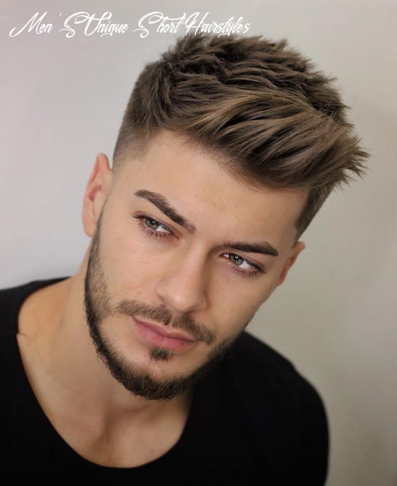 9 unique short hairstyles for men styling tips (with images