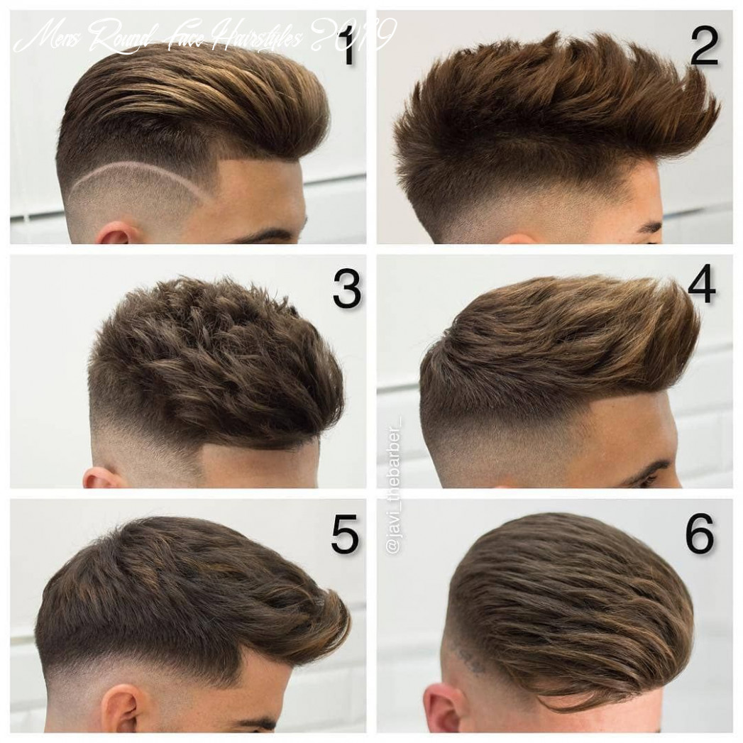 Appropriate hairstyle ideas for men with round faces 10 page 10