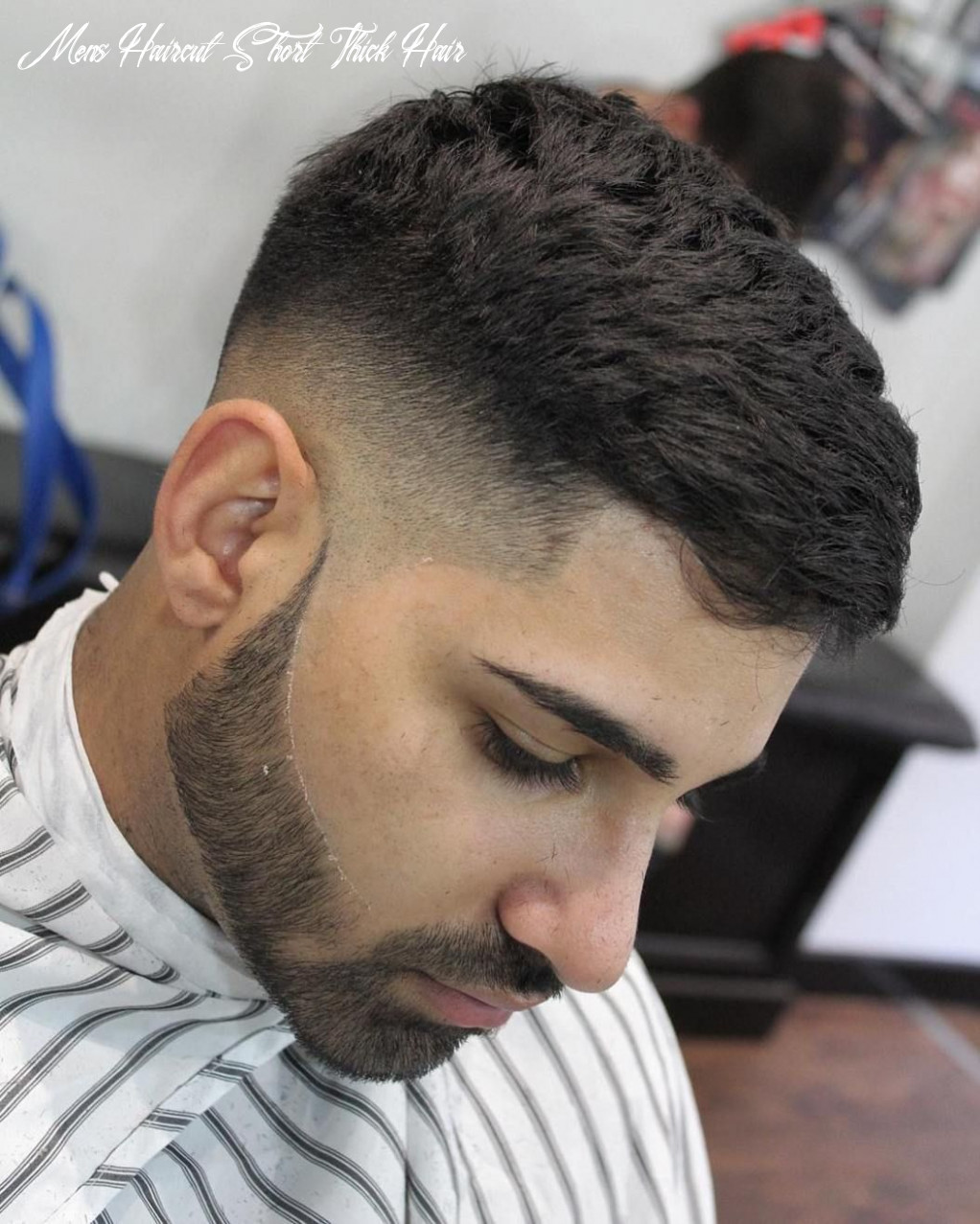 Barber dylan f mens haircuts for short thick hair mid fade short