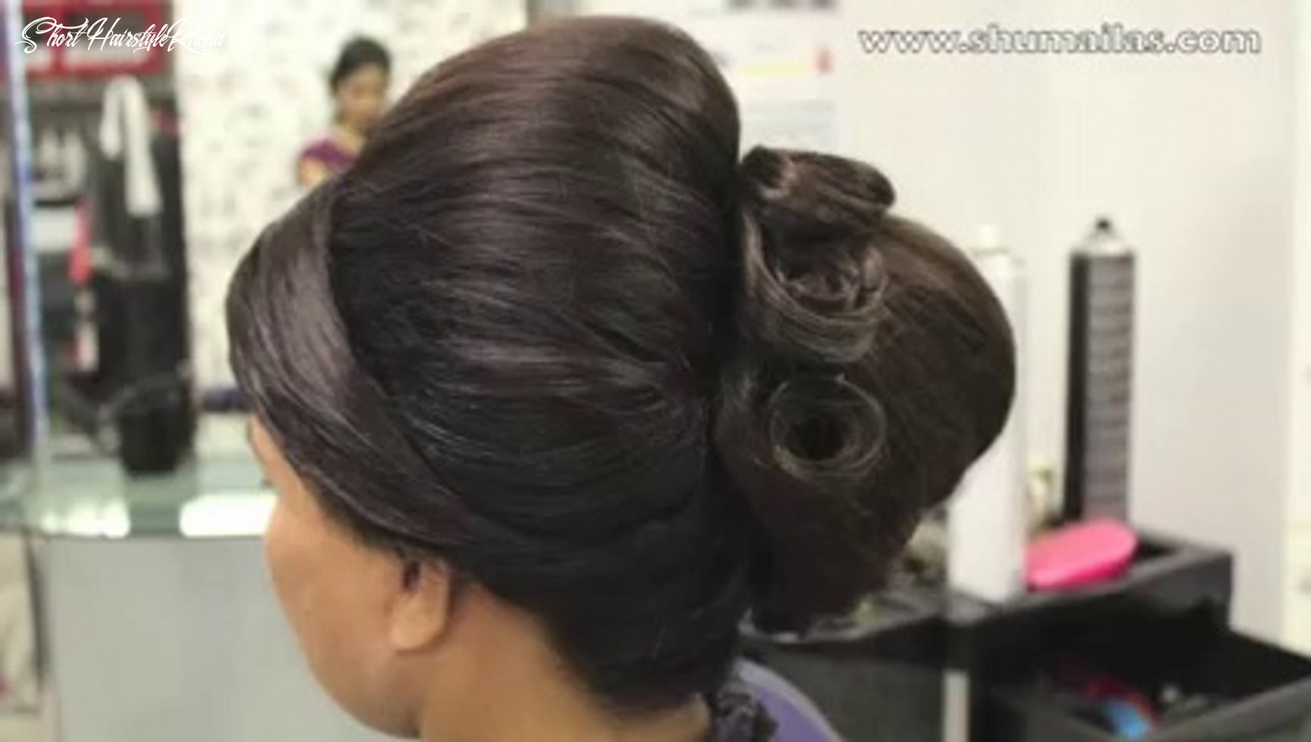 Beehive hairstyle indian, pakistani, asian bridal hair style wedding hairstyles for short hair short hairstyle khopa
