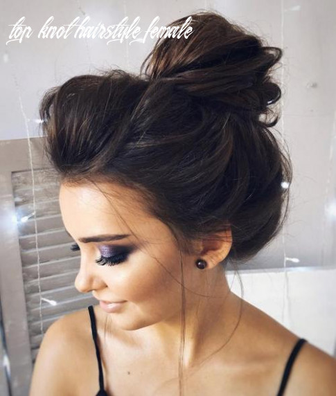 Best 12 top knot bun ideas on therighthairstyles top knot hairstyle female