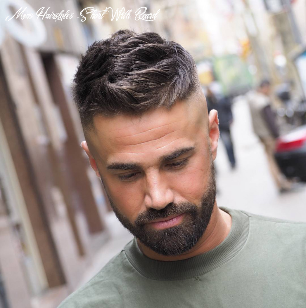 Best short haircuts for men with beards haircut today mens hairstyles short with beard