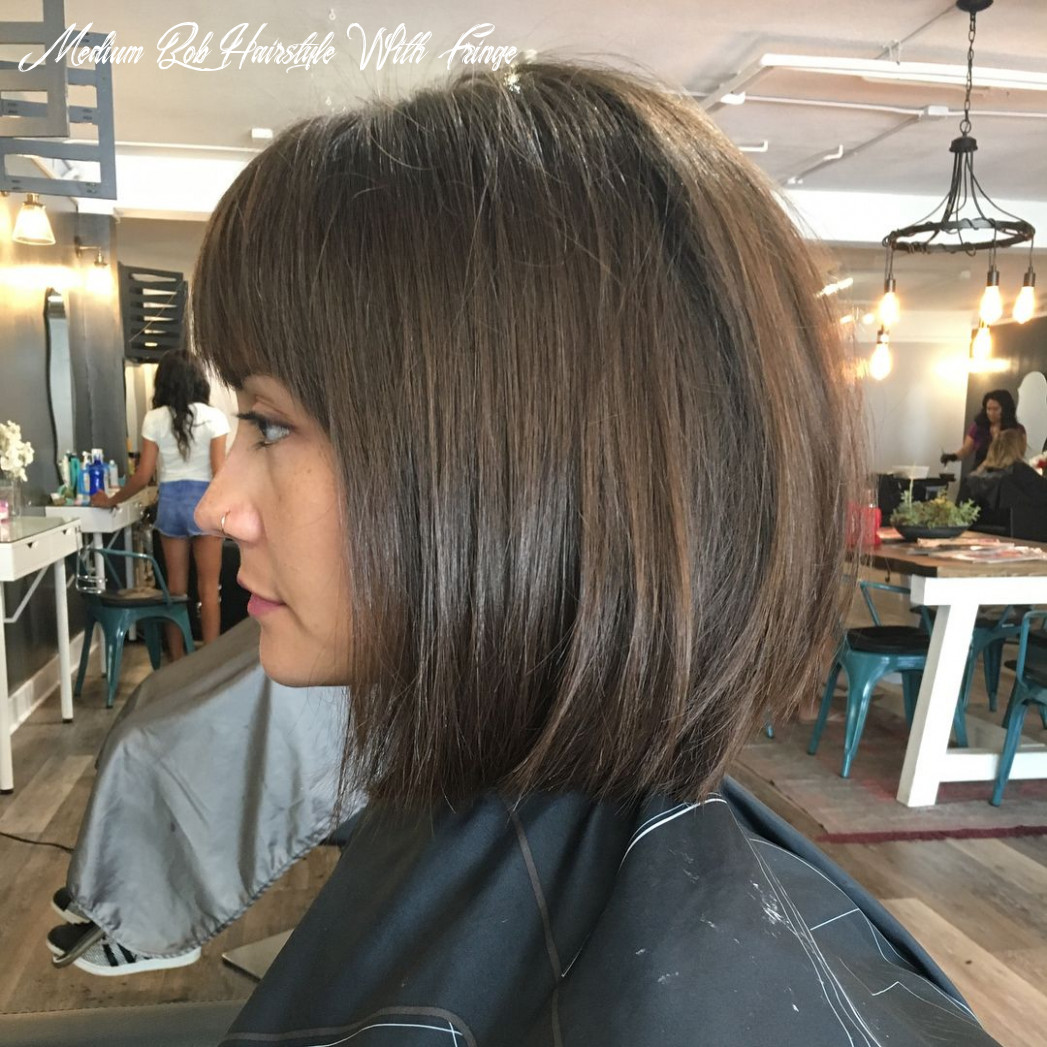 Blunt bob w/ bangs ? (wavy & straight) | bobbed hairstyles with