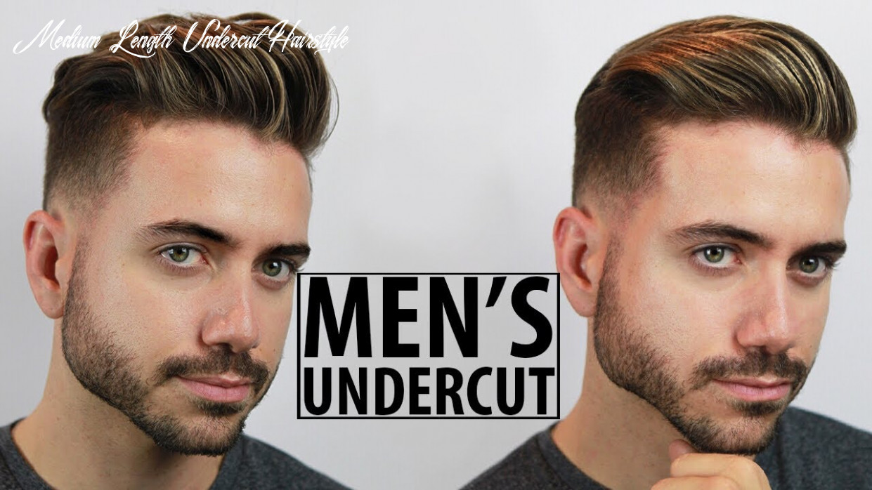 Disconnected undercut haircut and style tutorial | 10 easy undercut hairstyles for men | alex costa medium length undercut hairstyle