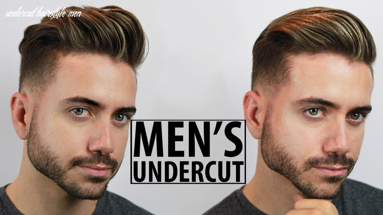 Disconnected undercut haircut and style tutorial   10 easy undercut hairstyles for men   alex costa undercut hairstyle men