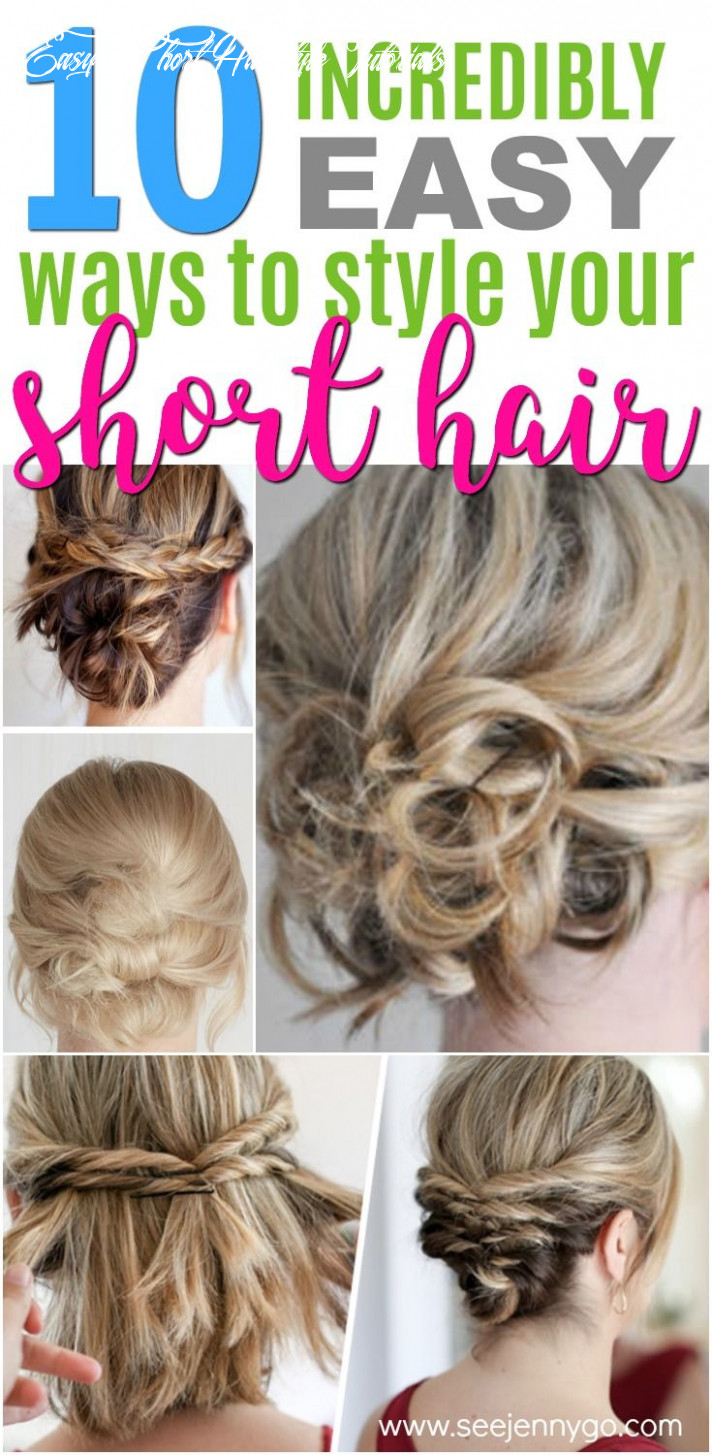 Easy hairstyles for short to medium length hair   kurze haare